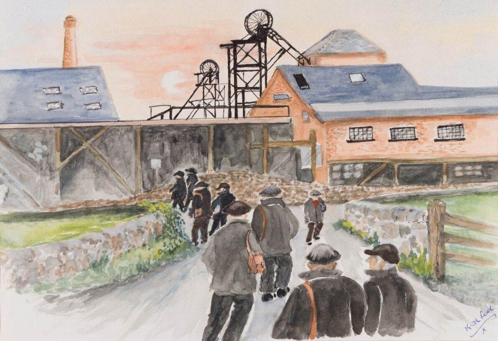 Miner's Walk Artistic Impression