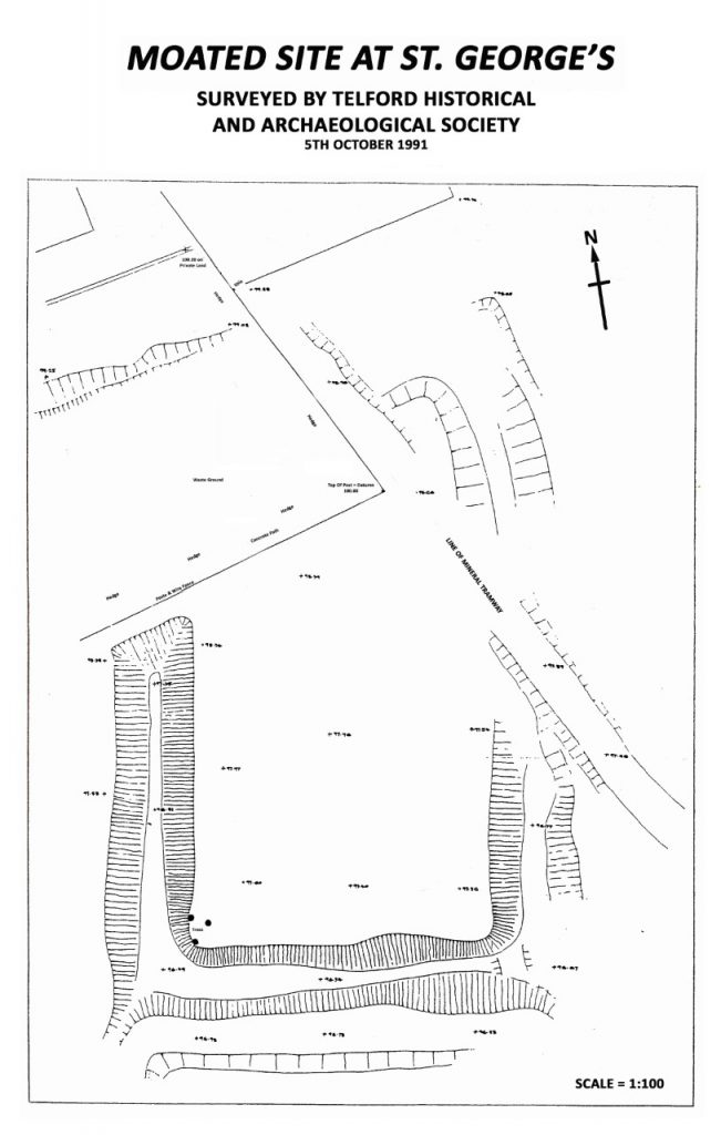Moated Site Map