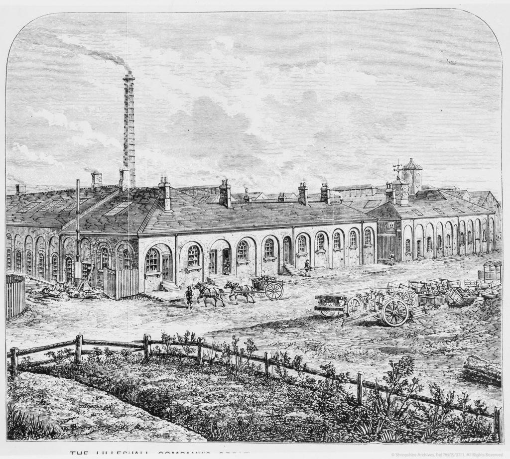 Wrockwardine Wood - New Yard Works.