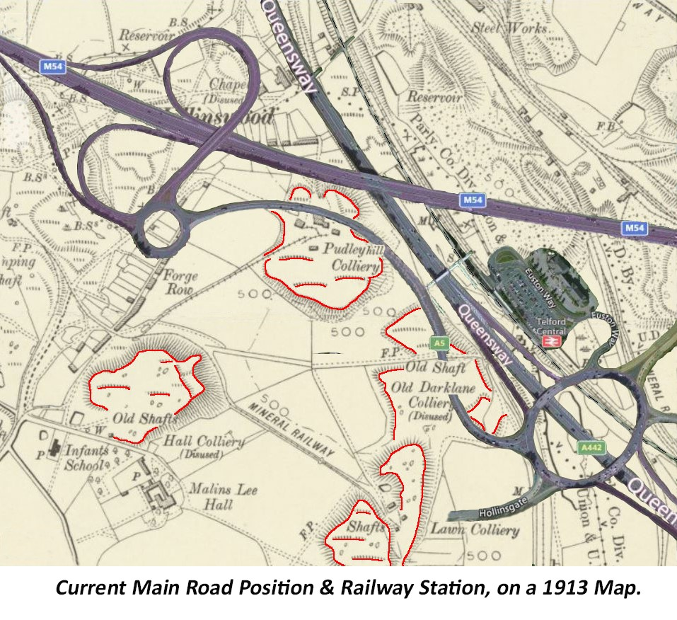Pudley Hill Map